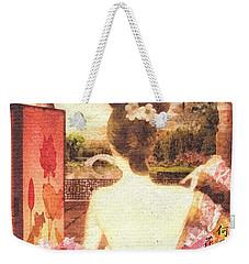 Kimono Weekender Tote Bag by Mo T