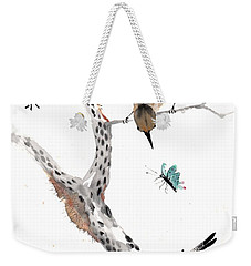 Kindred Hearts Weekender Tote Bag by Bill Searle