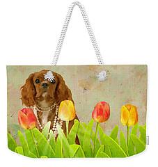 King Charles Cavalier Spaniel Weekender Tote Bag