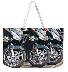 King County Police Motorcycle Weekender Tote Bag