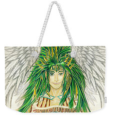 King Crai'riain Portrait Weekender Tote Bag by Shawn Dall