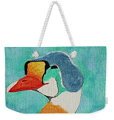 King Eider Weekender Tote Bag