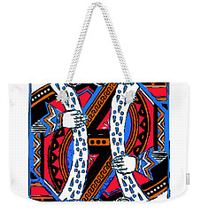King Of Hearts 20140301 Weekender Tote Bag