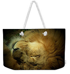 King Of Peace,lion Weekender Tote Bag