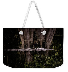 Weekender Tote Bag featuring the photograph King Of The River by Steven Sparks