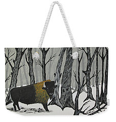 King Of The Woods Weekender Tote Bag