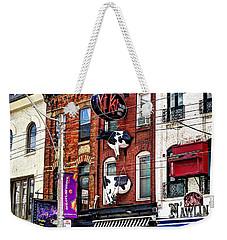 King Street West Weekender Tote Bag