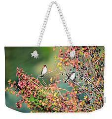 Kingbird Pair Weekender Tote Bag