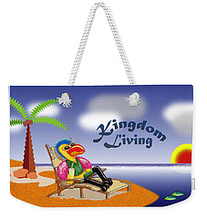 Kingdom Living Weekender Tote Bag by Jerry Ruffin