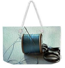 Kingfisher Blue Weekender Tote Bag by Jan Bickerton