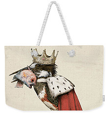 Kingfisher Weekender Tote Bag by Eric Fan