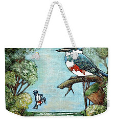 Kingfishers Cove Weekender Tote Bag