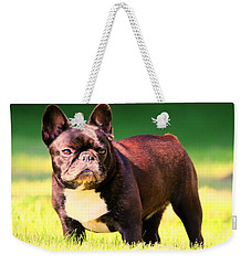 King's Frenchie - French Bulldog Weekender Tote Bag