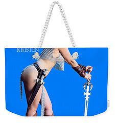 Kirsten Vgirl Pinup Weekender Tote Bag