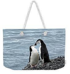 Kiss Me You Fool Weekender Tote Bag