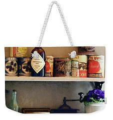 Kitchen Pantry Weekender Tote Bag