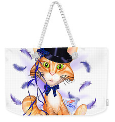 Kitticat Party Design Weekender Tote Bag