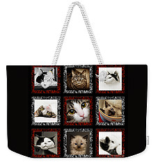 Kitty Cat Tic Tac Toe Weekender Tote Bag