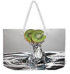 Kiwi Freshsplash Weekender Tote Bag by Steve Gadomski