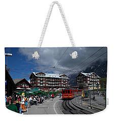 Kleine Schedegg Switzerland Weekender Tote Bag