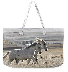 Weekender Tote Bag featuring the photograph Knee Deep D3505 by Wes and Dotty Weber