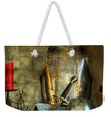 Knight - A Warriors Tribute  Weekender Tote Bag by Paul Ward
