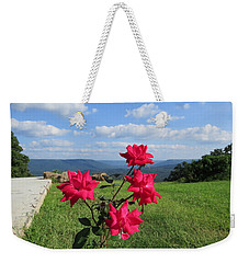 Knock Out Rose Weekender Tote Bag