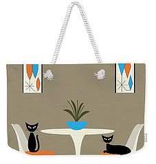 Knoll Table Weekender Tote Bag