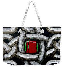 Knotwork With Gem Weekender Tote Bag