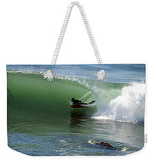 Know What Lies Beneath Weekender Tote Bag