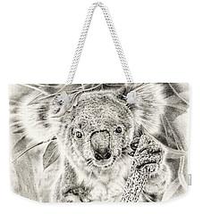 Koala Garage Girl Weekender Tote Bag by Remrov