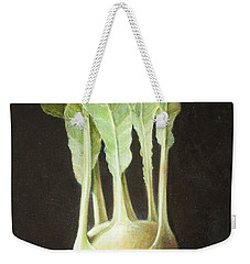 Kohl Rabi, 2012 Acrylic On Canvas Weekender Tote Bag by Lincoln Seligman