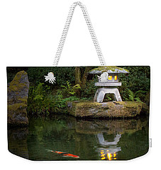 Koi By Lantern Light Weekender Tote Bag
