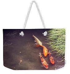 Koi Weekender Tote Bag by Cindy Garber Iverson
