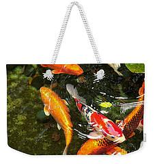 Koi Fish Japan Weekender Tote Bag