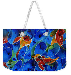 Koi Pond 2 - Liquid Fish Love Art Weekender Tote Bag