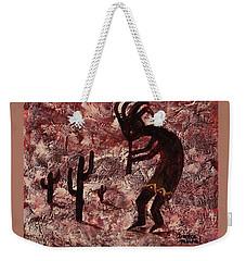 Kokopelli Weekender Tote Bag by Darice Machel McGuire