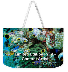 Komodo Island 5 Weekender Tote Bag by David Beebe