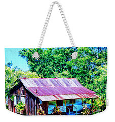 Kona Coffee Shack Weekender Tote Bag by Dominic Piperata