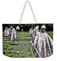 Korean War Veterans Memorial Weekender Tote Bag