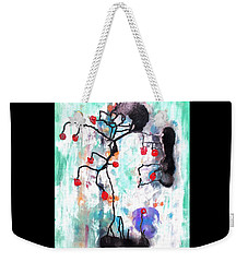 Weekender Tote Bag featuring the painting Kyoto Spring by Roberto Prusso