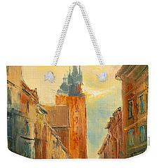 Krakow Florianska Street Weekender Tote Bag