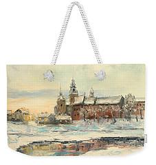 Krakow - Wawel Castle Winter Weekender Tote Bag
