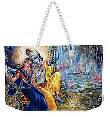 Krishna Leela Weekender Tote Bag by Harsh Malik