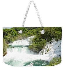 Krka Waterfalls Croatia Weekender Tote Bag
