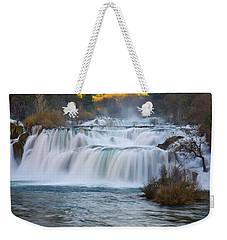 Krka Waterfalls Weekender Tote Bag