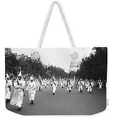 Ku Klux Klan Parade Weekender Tote Bag by Library of Congress