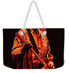 Kurt Cobain Painting Weekender Tote Bag by Paul Meijering
