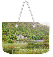 Weekender Tote Bag featuring the photograph Kylemore Abbey 1 by Mary Carol Story