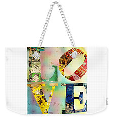 L O V E Weekender Tote Bag by Jordan Blackstone